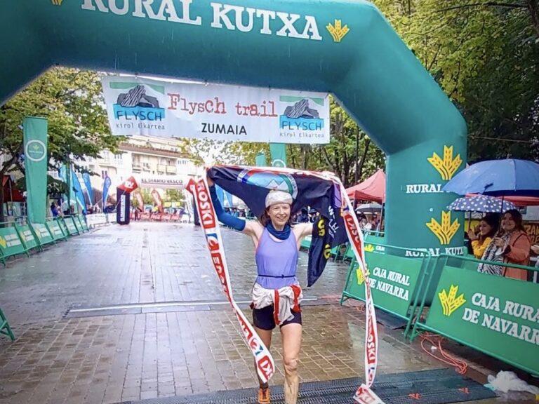Charlotte Morgan - 2021 Zumaia Flysch Trail 42k champion