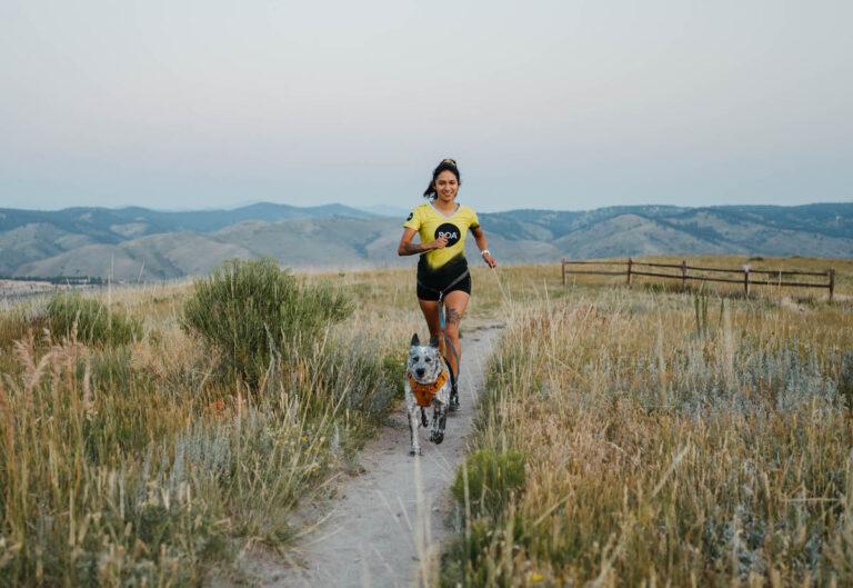 Laura Cortez with Dog- Allison Dobbs