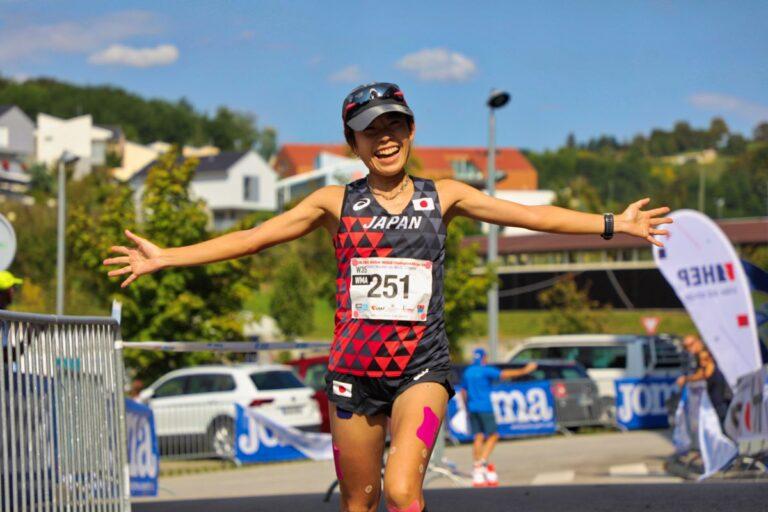 Aiko Kanematsu - 2018 IAU 100k World Championships 2