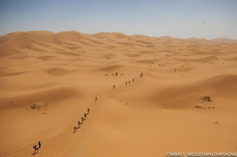 2019 Marathon des Sables - Merzouga Dunes