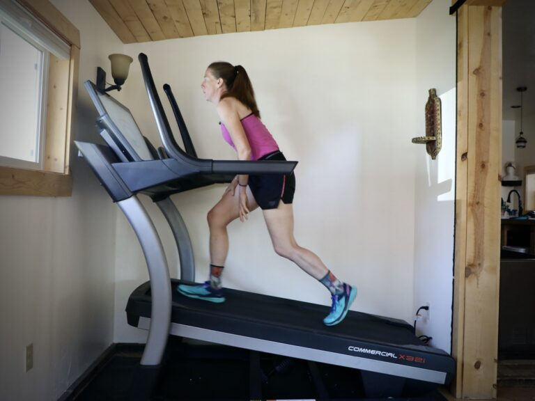 NordicTrack Commercial X32i Treadmill - running