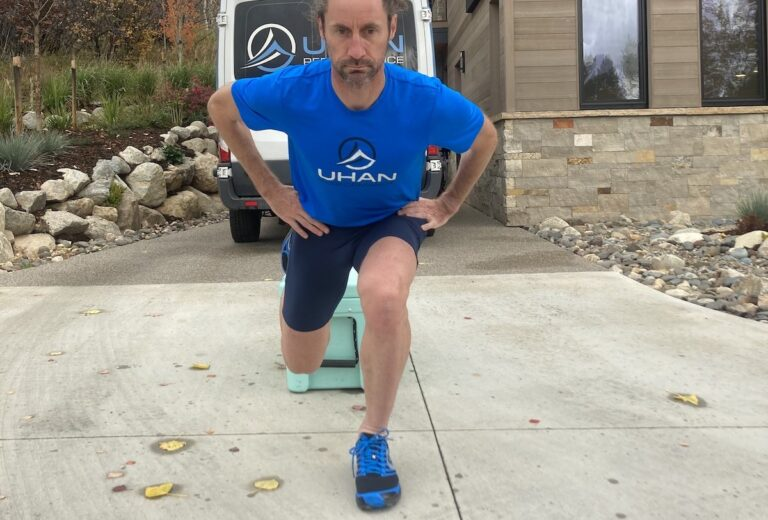 Joe Uhan - Split Squat - Front view