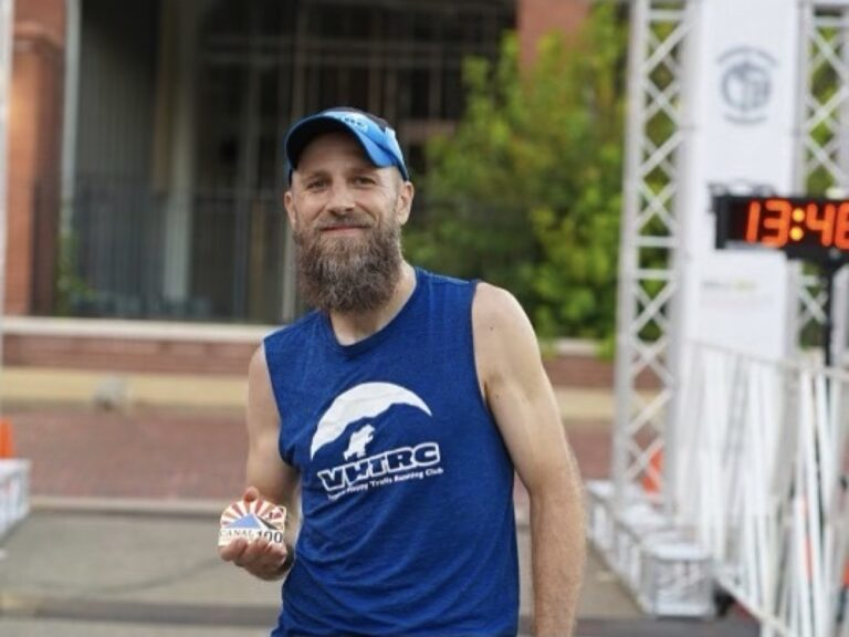 Paul Jacobs - 2021 Canal Corridor 100 Mile champion