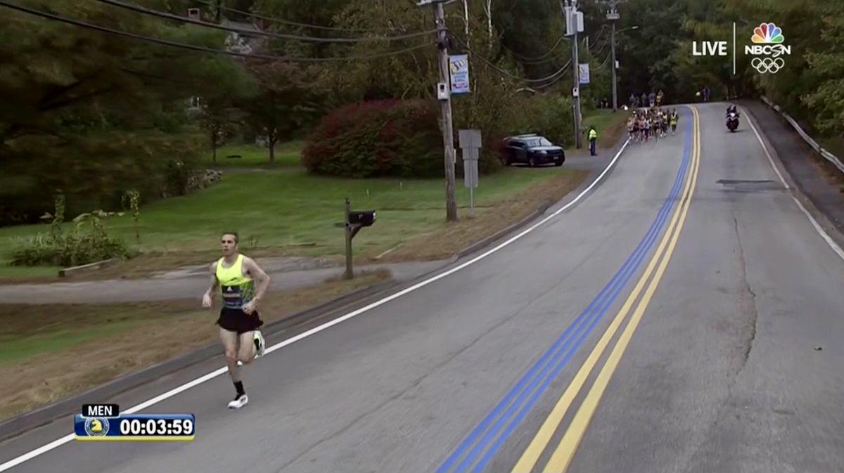 CJ Albertson - 2021 Boston Marathon 1
