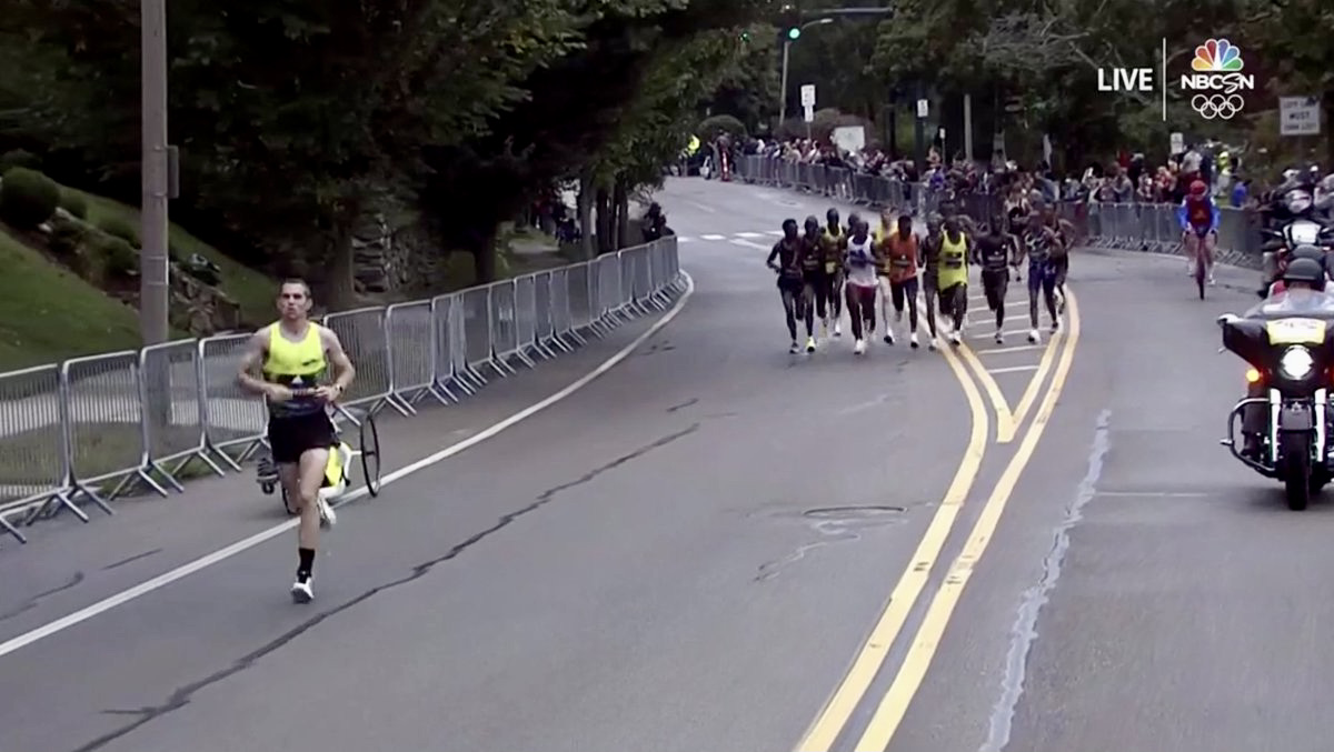 CJ Albertson - 2021 Boston Marathon 2