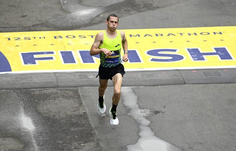 CJ Albertson - 2021 Boston Marathon 4