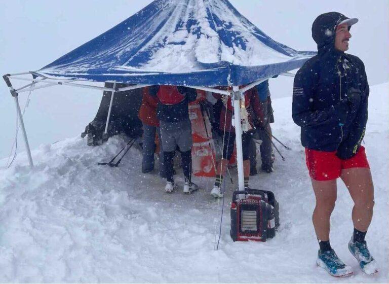 2021 DC Peaks 50 - Francis Tent - Jake Kilgore
