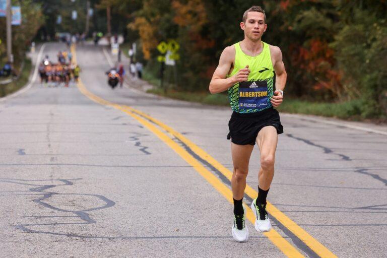CJ Albertson - 2021 Boston Marathon 6