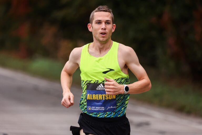 CJ Albertson - 2021 Boston Marathon 8