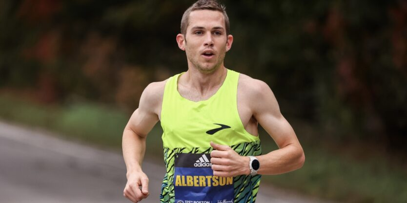 An Interview with CJ Albertson After His 10th Place at the 2021 Boston Marathon