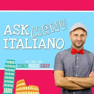 Ask Manu Italiano Artwork