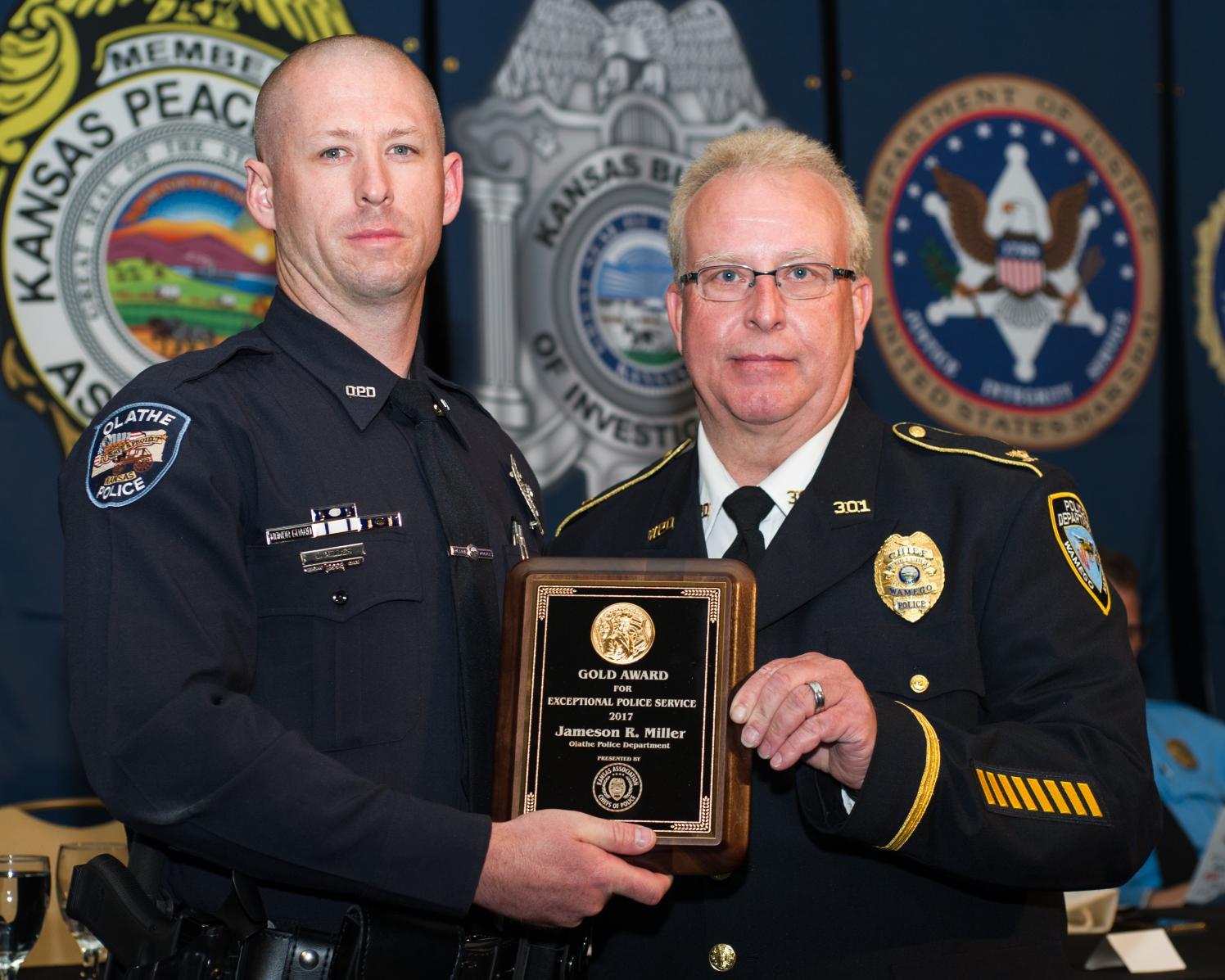 Awards – Kansas Association of Chiefs of Police -Members