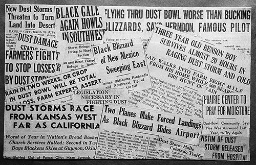 Dust Bowl Headlines