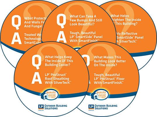 Q and A Circle Signs