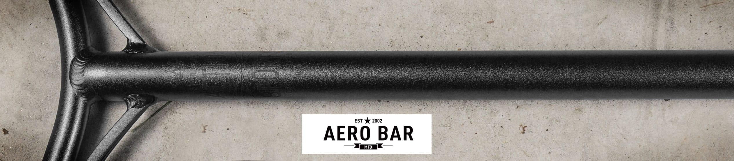 MGP Mfx AERO SCOOTER Bar-Nero Opaco in Lega