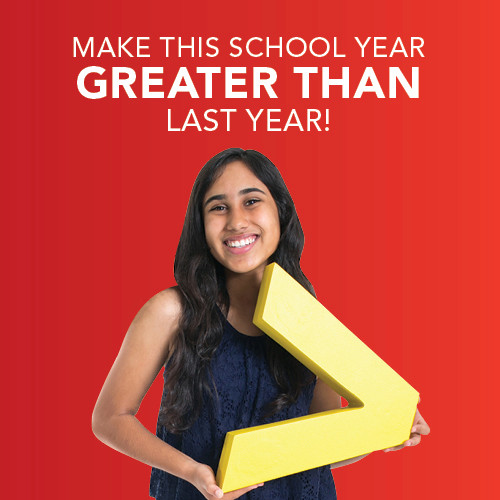 Make This School Year Greater Than Last Year!