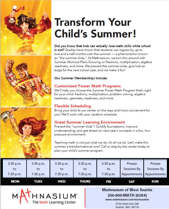 Mathnasium of West Seattle - Math Tutoring & Learning Center