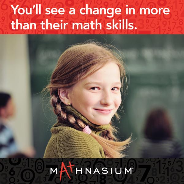 You'll see a change in more than their math skills.