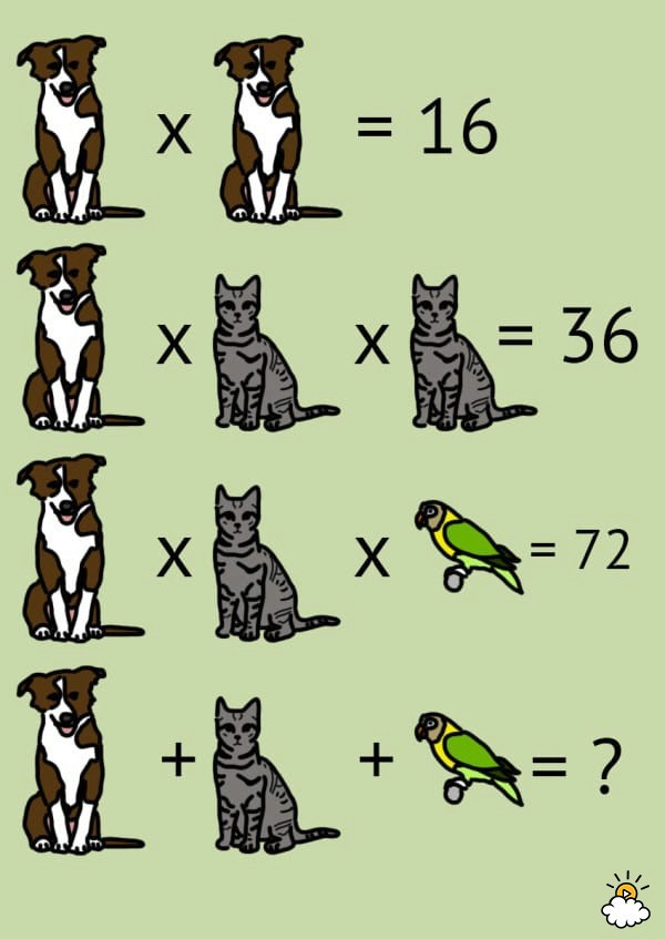 Pet Math Problem from Our Atherton Math Tutors - Math Tutor ...