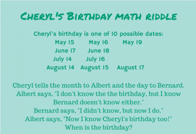 Math puzzle for the week! | Mathnasium
