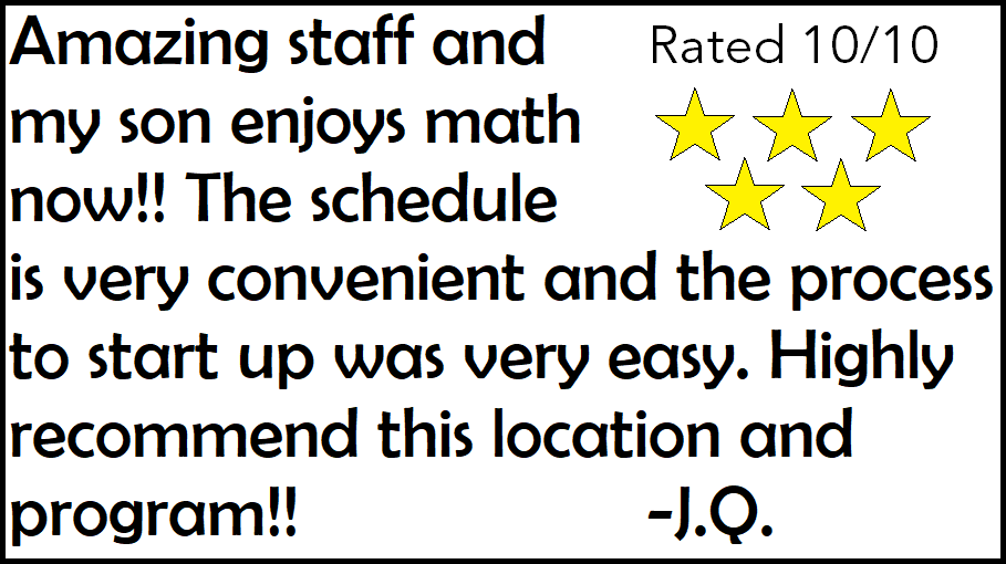 math tutoring that works the math learning center  we are located in the lake forest plaza around the corner from egg harbor cafe call us today at 847 295 math 6284 for a