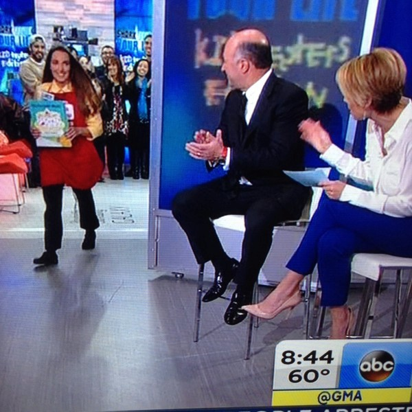 Lucy Ravitch on Good Morning America!