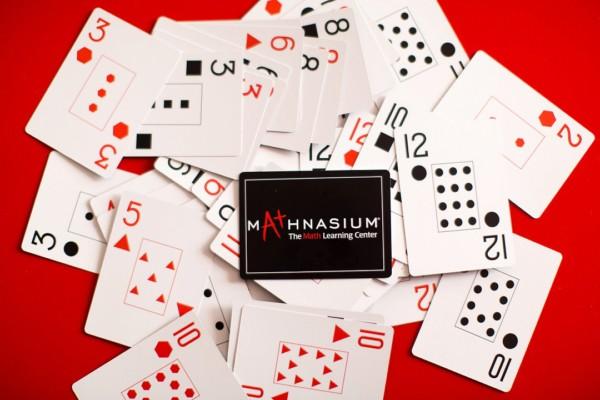 Mathnasium playing cards