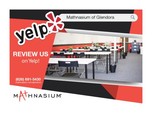 There Is No Yelp Why Parents Struggle >> Mathnasium Of Glendora Offers Math Tutoring And Homework Help To