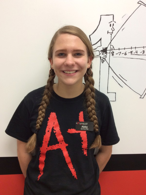 Abby Floyd is a senior at Sir Francis Drake High School who is looking forward to college next year. She is a part of the film program at her school, and hopes to study computer science in the future. In her free time, she plays piano, participates in theatre productions, and plays softball. She is excited to help kids with math at the Mathnasium!