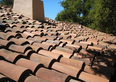 Handmade Mission Tile Roofing