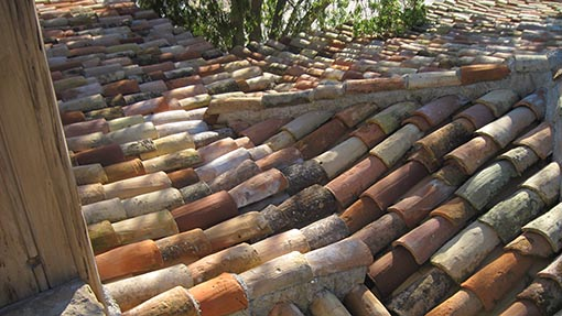 Mission Tile Roof Example