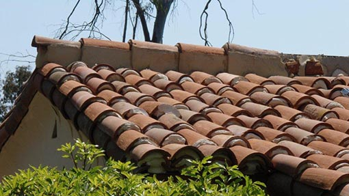 Mission Tile Roof Installation Example