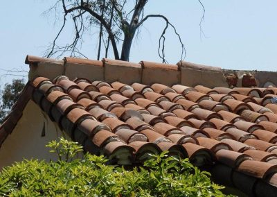 Mission Tile Roof Installation Photo