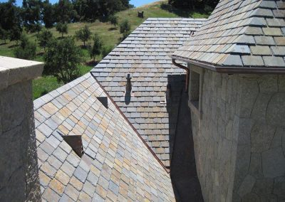 Multi Colored Slate Roof Photo