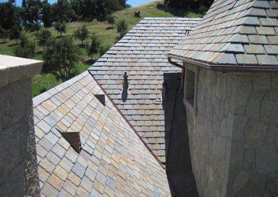 Multi Colored Slate Roof Photo