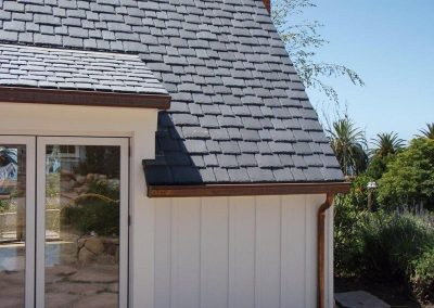 Real Slate Roof Installation Photo