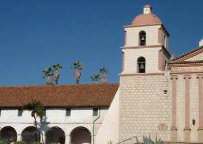 Santa Barbara Mission Tile Roof Photo