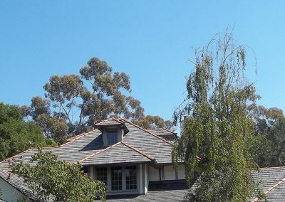 Simulated Shake Roof Photo
