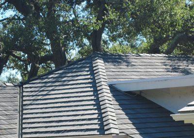 Simulated Shingle Roof