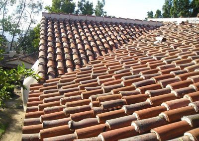 Spanish Clay Tile Roof Photo