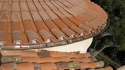 Tile roofs for Spanish clay tile roof
