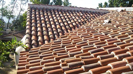 home photo clay tile roof