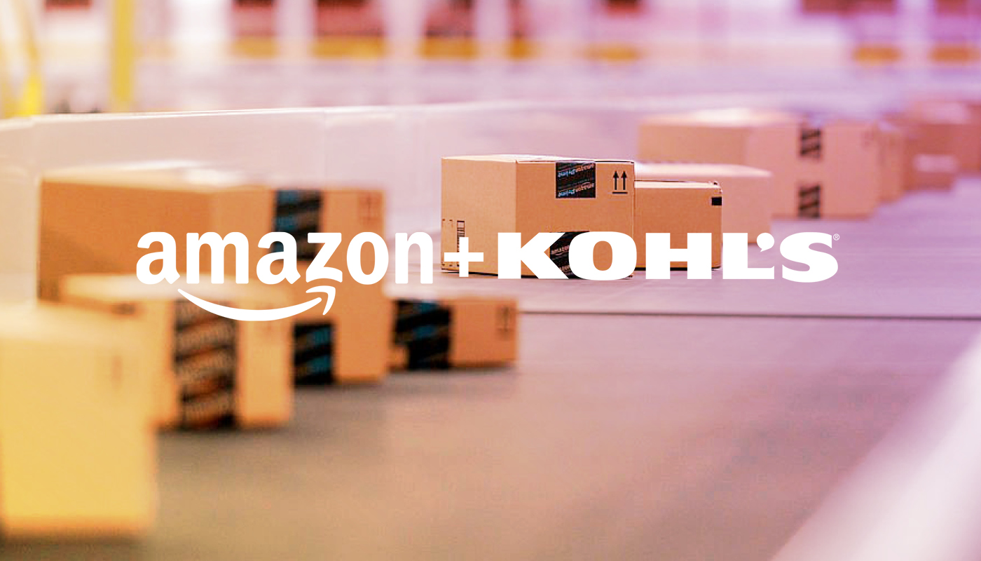 Innovative Amazon & Kohl's Partnership Unites Frenemies around the Customer