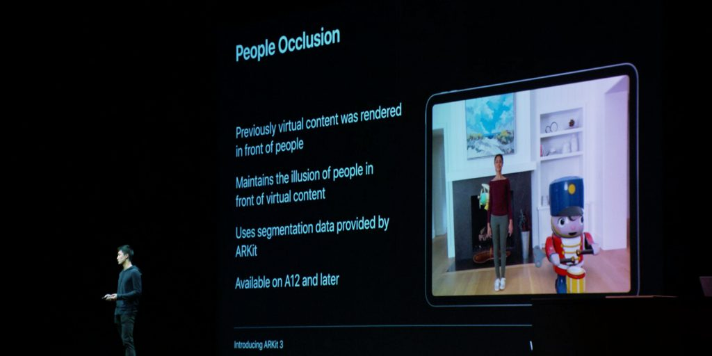 ARKit 3.0 People Occlusion