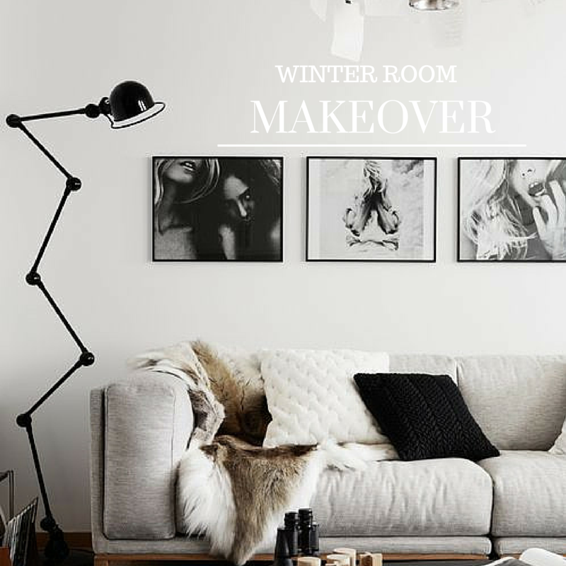 Winter Room Makeover