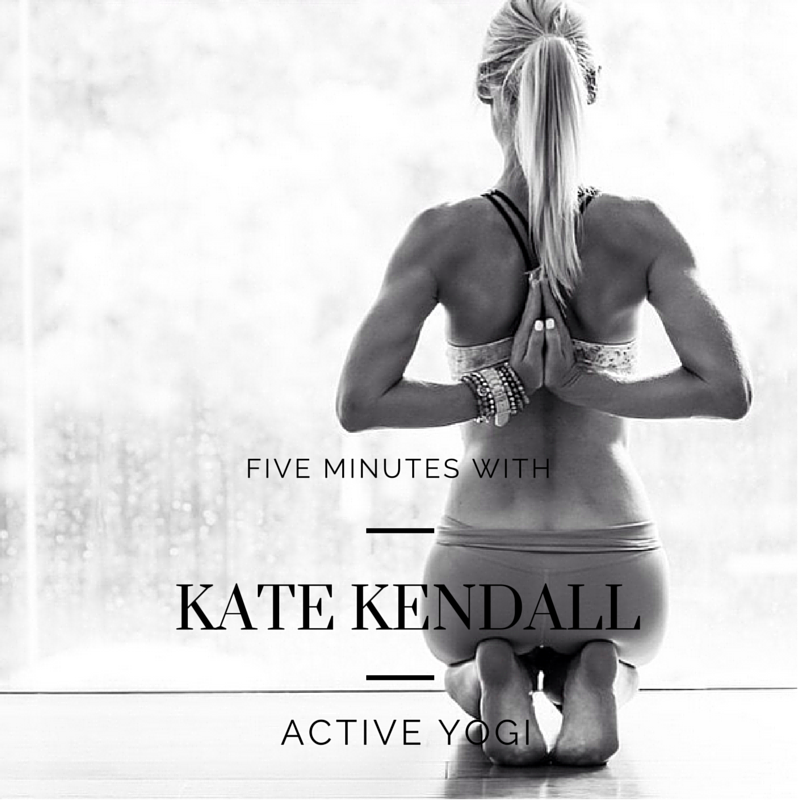 Kate Kendall Active Yogi