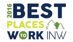 2016 Best Places to Work INW Logo