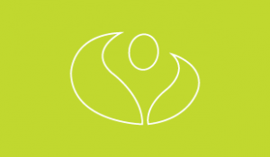 Illustrated lime green Numerica logo