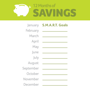 12 months of savings January
