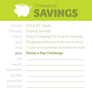 12 Months of Saving June